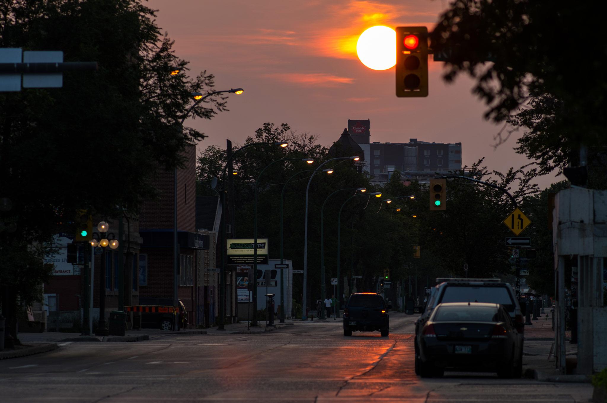 Late Summer in Winnipeg