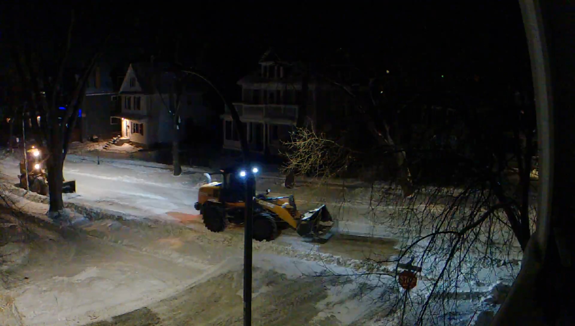 Street Clearing Timelapse